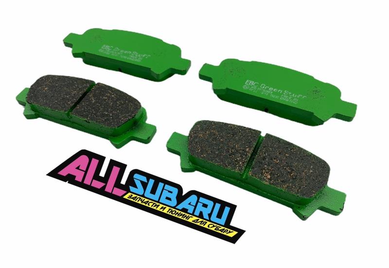 Тормозные колодки задние Новое Subaru Impreza BL 2000 заднее