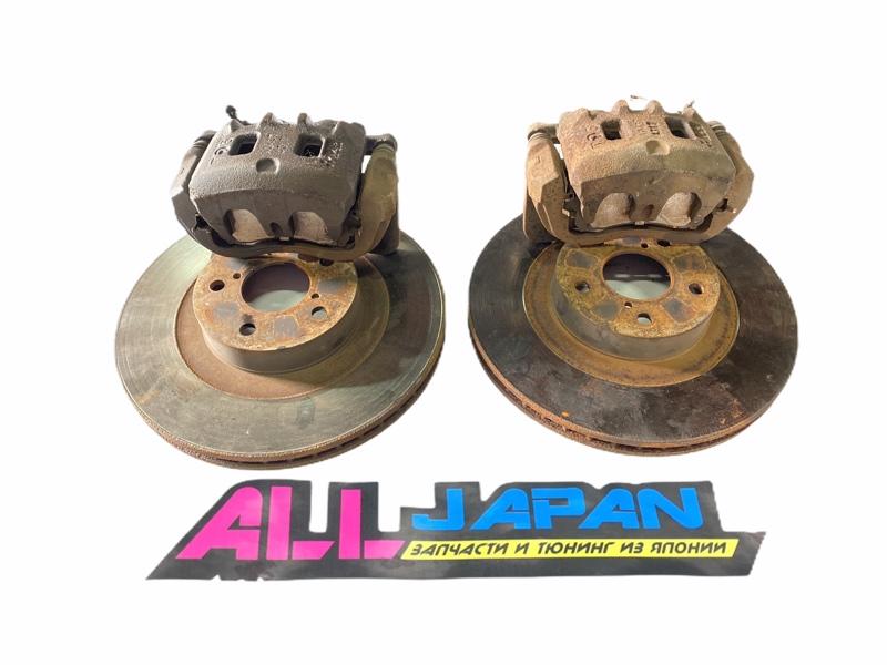 Тормозные суппорта Subaru Legacy BE 1998 переднее (б/у)
