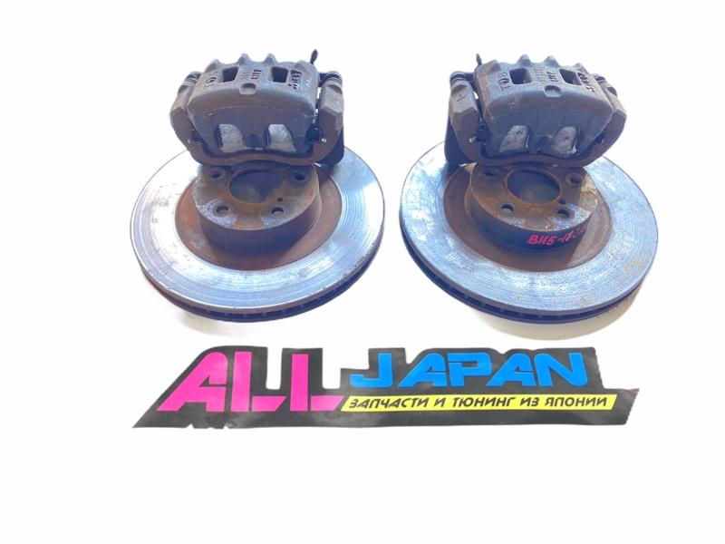 Тормозные суппорта Subaru Legacy BH 1998 переднее (б/у)