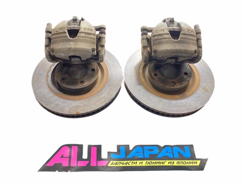 Тормозные суппорта Nissan Skyline PV36 2006 переднее (б/у)