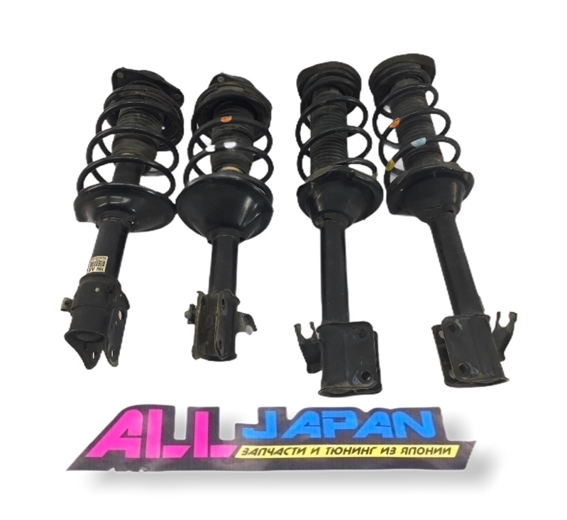 Амортизаторы, стойки комплект Subaru Forester SG 2002 (б/у)