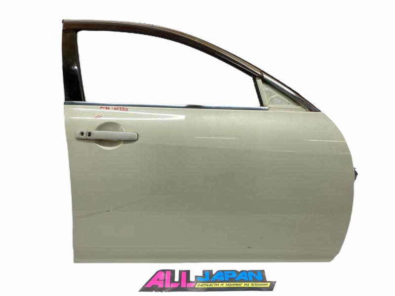 Дверь передняя правая Nissan Skyline PV36 2006 передняя правая (б/у)