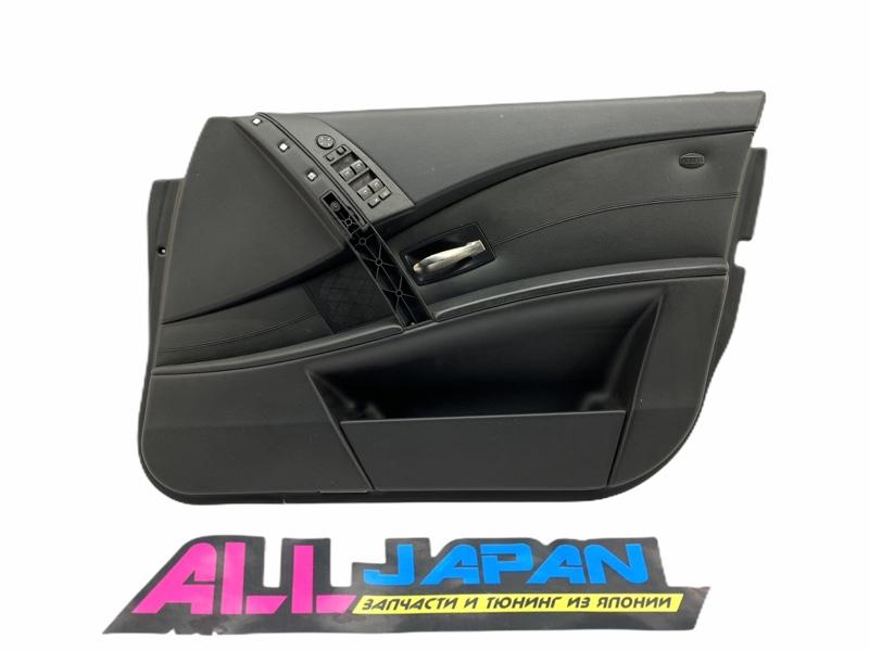 Обшивка двери, дверные карты Bmw 5-Series E60 2003 передняя правая (б/у)