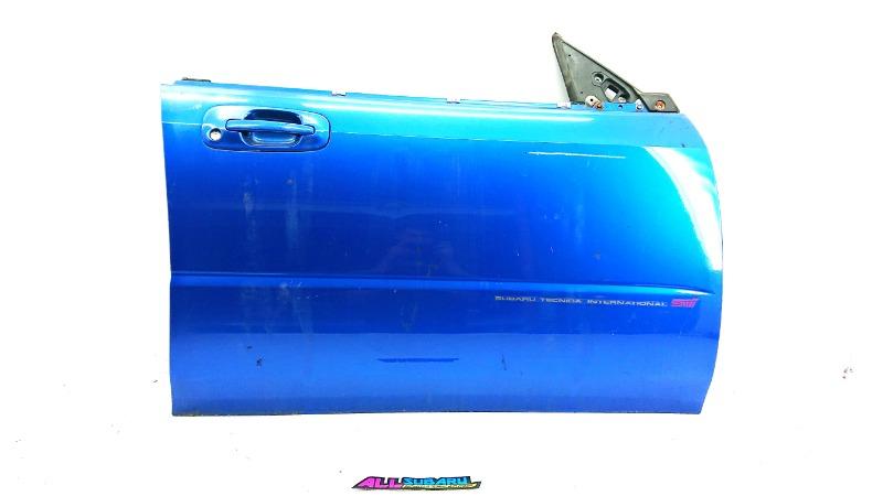 Дверь передняя правая Subaru Impreza GD 2002 передняя правая (б/у)