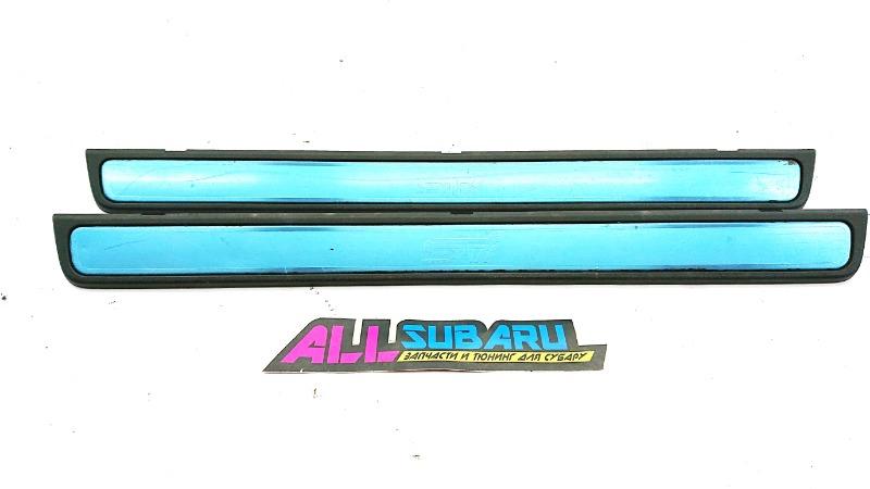Накладка порога в салоне Subaru Impreza Wrx Sti GRB EJ207 2008 (б/у)