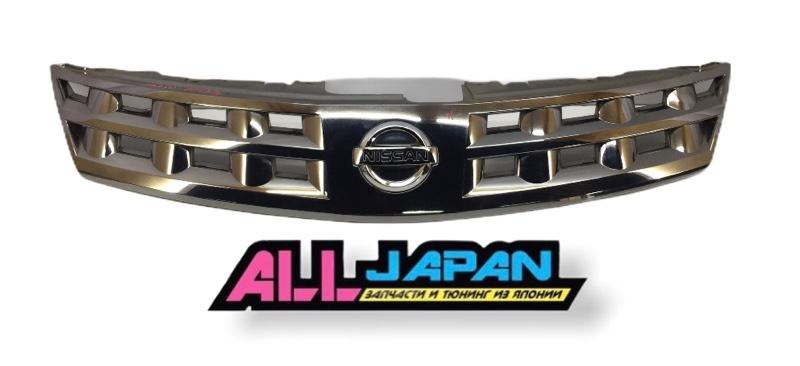 Решётка радиатора Nissan Murano PZ50 2002 передняя (б/у)