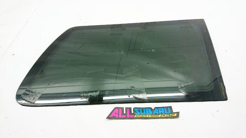 Стекло собачника, форточка Subaru Forester SF5 EJ205 1996 заднее правое (б/у)