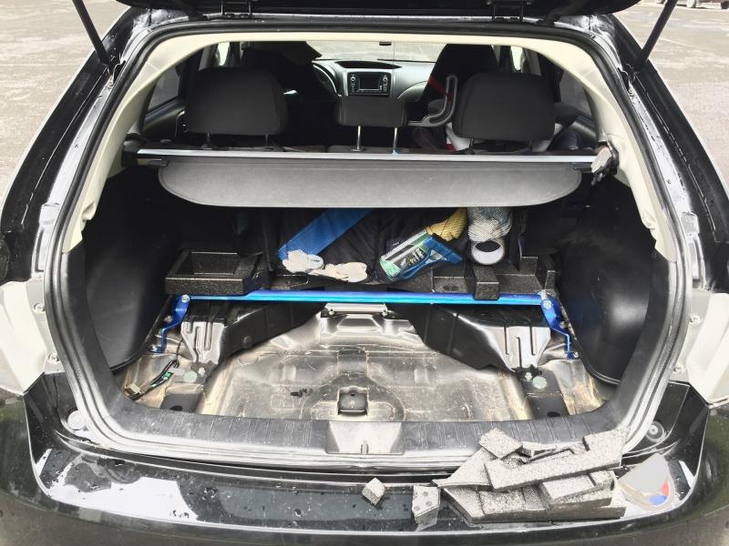 Распорка кузова Subaru Impreza GH