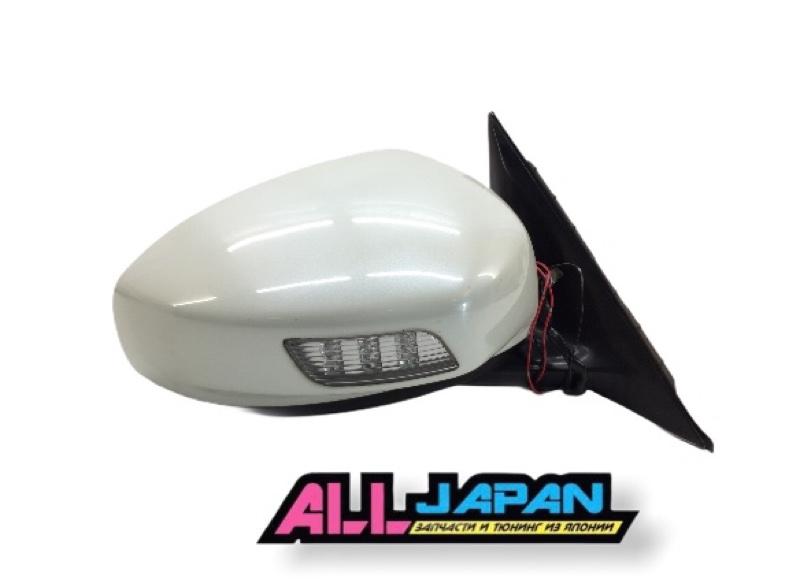 Зеркало боковое Nissan Fuga PY50 2004 правое (б/у)