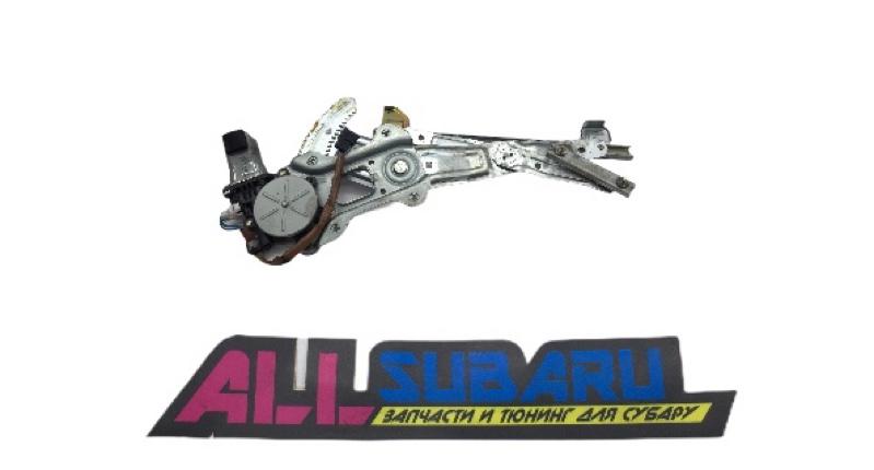 Моторчик стеклоподъемника Subaru Impreza Wrx GD EJ205 2003 задний левый (б/у)