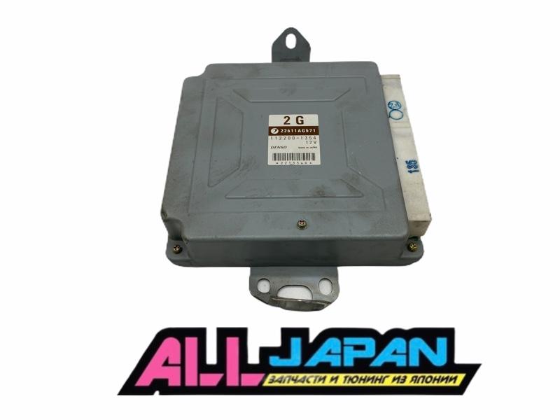 Блок управления двигателя, мозг Subaru Forester SG EJ205 2002 (б/у)