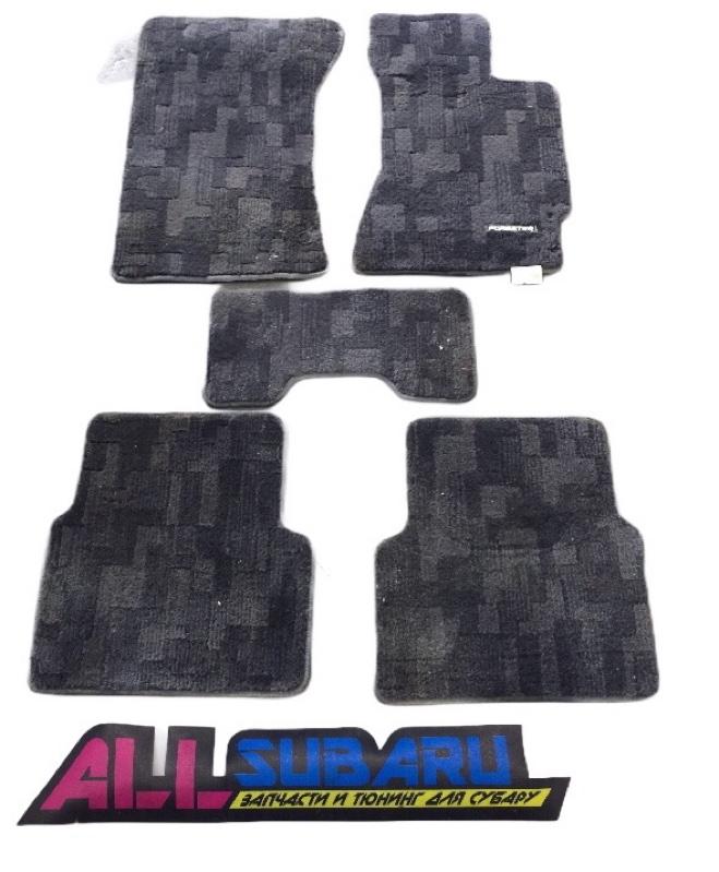 Коврики салона Subaru Forester SG9 EJ255 2003 (б/у)