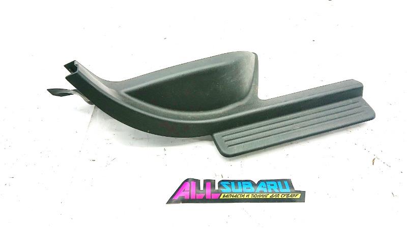 Накладка порога в салоне Subaru Impreza Wrx Sti GDB EJ207 2000 задняя правая (б/у)