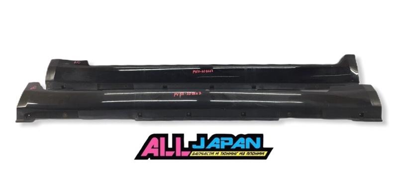 Порог, накладка Nissan Fuga PY50 2004 (б/у)
