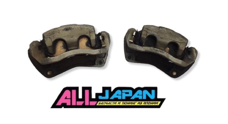 Тормозные суппорта Nissan Fuga PY50 2004 переднее (б/у)