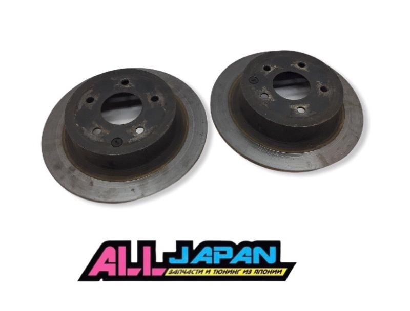 Тормозной диск задний, комплект Nissan Teana J32 2008 задний (б/у)