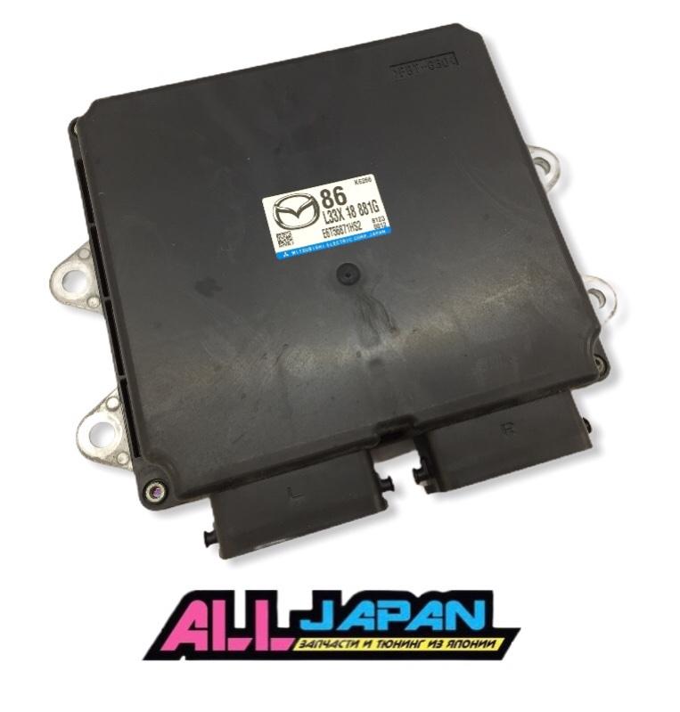 Блок управления двигателя, мозг Mazda 3 Mps BK L3VDT 2006 (б/у)