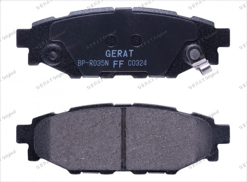 Тормозные колодки задние Subaru Forester GH 1996 заднее