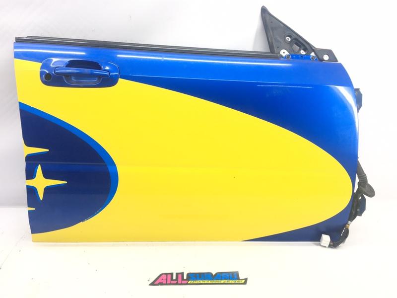 Дверь передняя правая Subaru Impreza Wrx Sti GDB EJ207 2003 передняя правая (б/у)