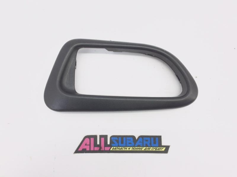 Рамка дверной ручки Subaru Impreza Wrx Sti GDB EJ207 2003 задняя правая (б/у)
