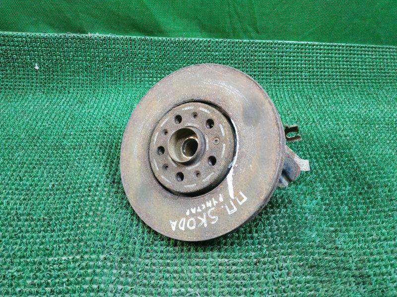 Кулак поворотный Skoda Roomster 5J7 BNV 2006 передний правый (б/у)