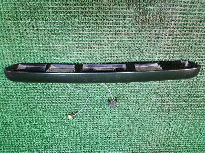 Накладка багажника Renault Megane 2 задняя (б/у)