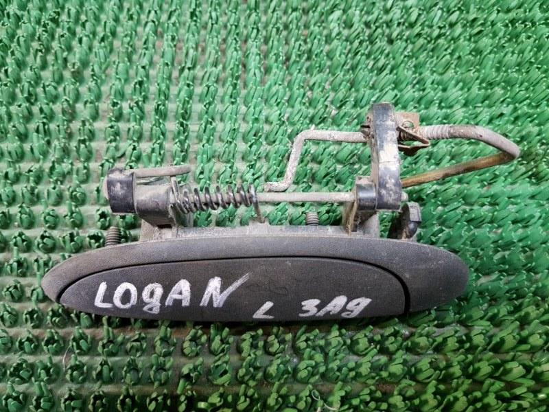 Ручка двери внешняя Renault Logan LS_ 2004 задняя левая (б/у)