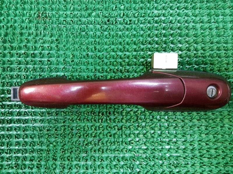 Ручка двери внешняя Suzuki Liana ER M16A 2001 передняя левая (б/у)