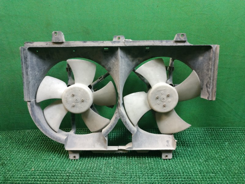 Вентилятор радиатора Nissan Serena 1 C23M GA16DE 1991 передний (б/у)