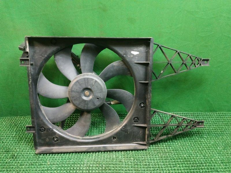 Вентилятор радиатора Skoda Roomster 5J7 BNV 2006 (б/у)