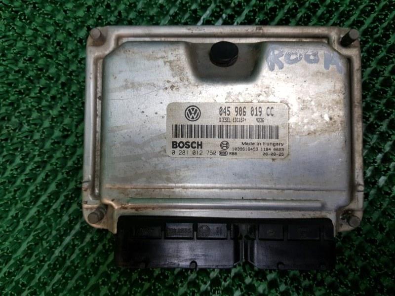 Блок управления двигателя Skoda Roomster 5J7 BNV 2006 (б/у)