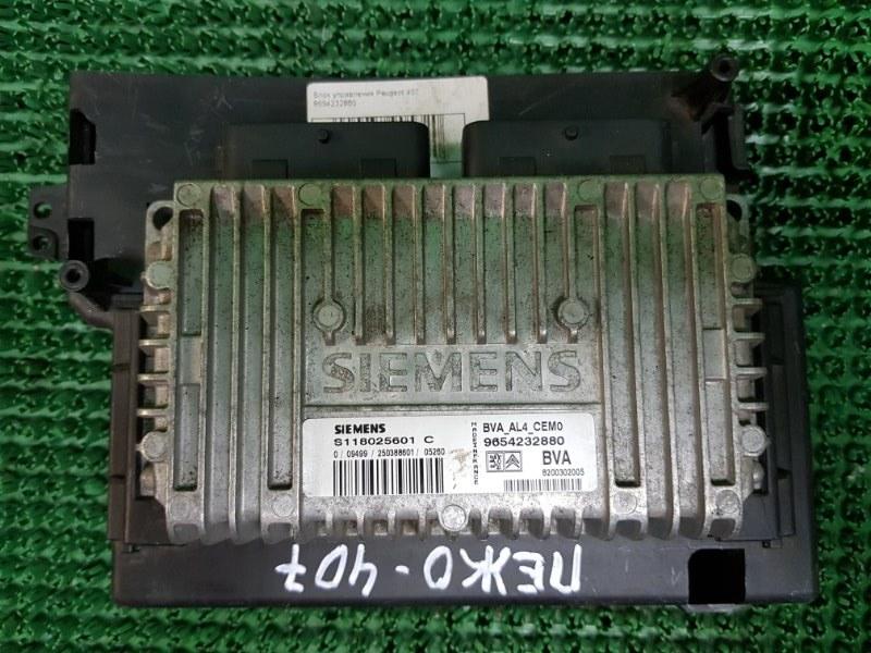Блок управления Peugeot 407 6D_ RFN 2004 (б/у)