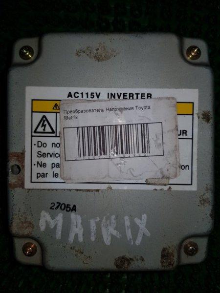 Преобразователь напряжения Toyota Matrix ZZE132 2002 (б/у)