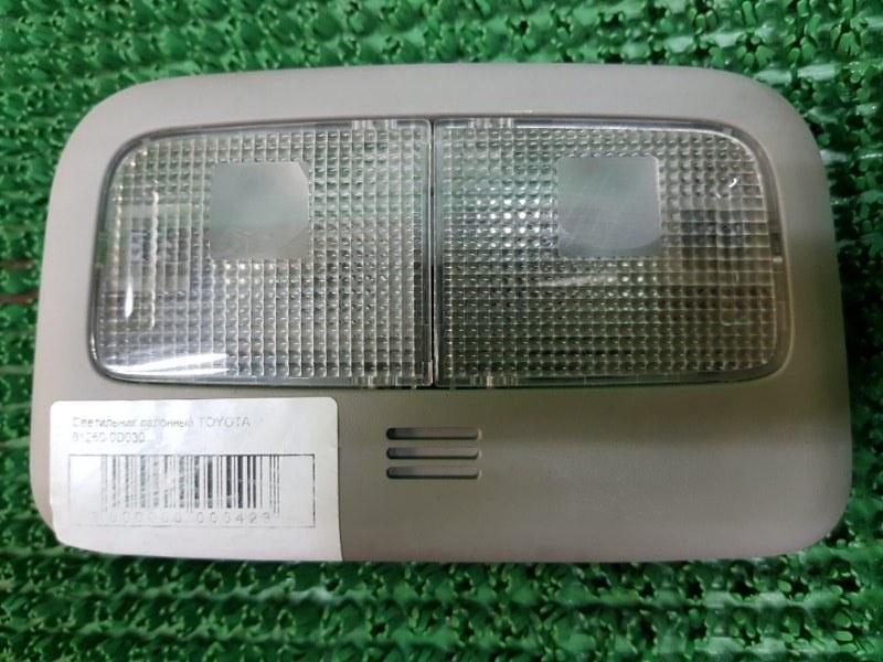 Светильник Toyota Yaris 2 P90 2SZFE 2005 (б/у)