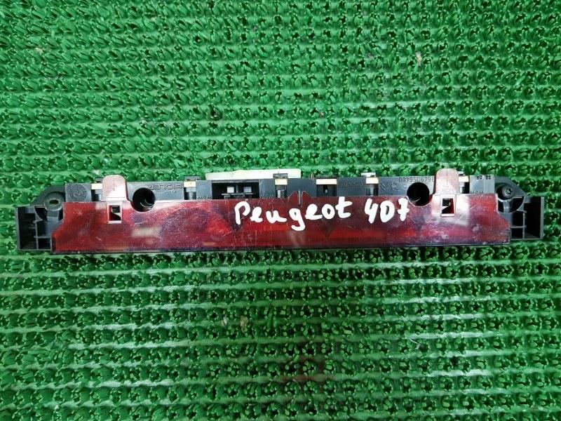 Дополнительный стоп сигнал Peugeot 407 6D_ RFN 2004 (б/у)