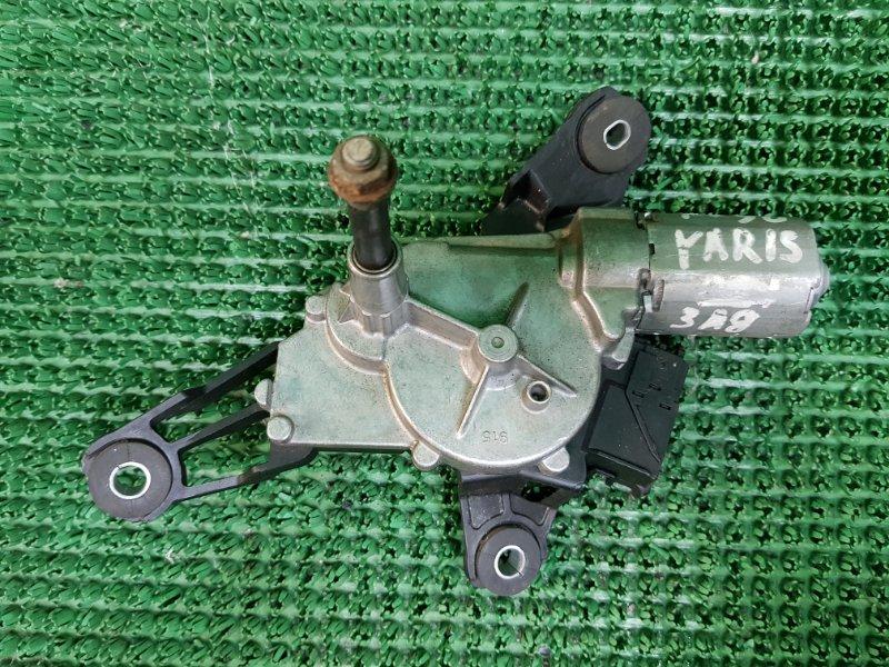 Моторчик дворника Toyota Yaris 2 P90 2SZFE 2005 задний (б/у)