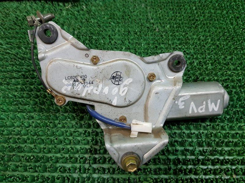 Мотор дворников Mazda Mpv LW 1999 задний (б/у)