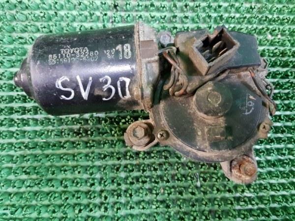 Моторчик дворника Toyota Camry SV30 4SFE 1990 передний (б/у)