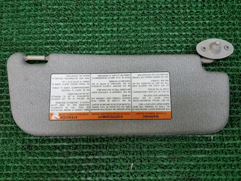 Козырек солнцезащитный Chevrolet Lanos T100 A15SMS 2005 правый (б/у)