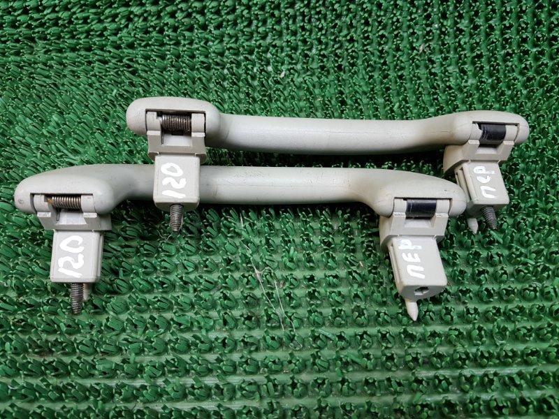 Ручки потолка Toyota Corolla 9 E120 4ZZFE 2000 передние (б/у)