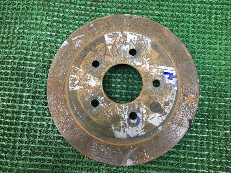 Тормозной диск Nissan Qashqai J10E K9K 732 2007 (б/у)