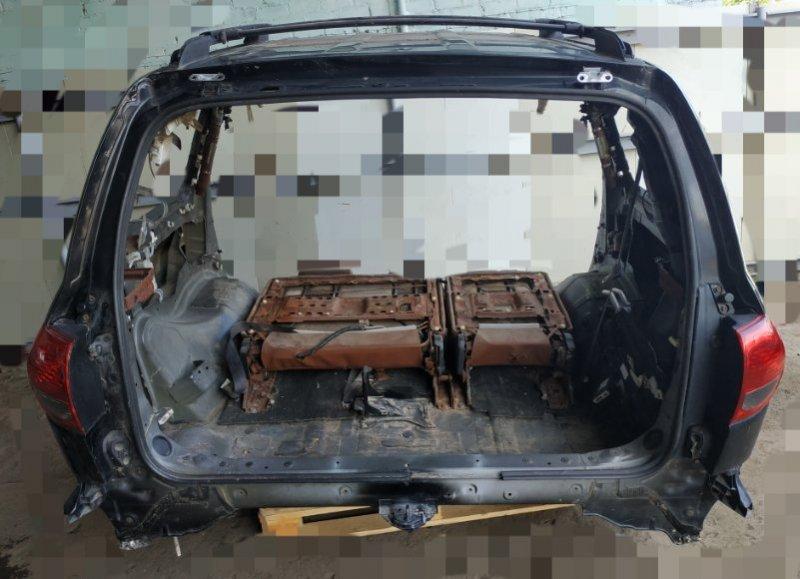 Задняя часть кузова Toyota Sequoia UCK60 2007 (б/у)