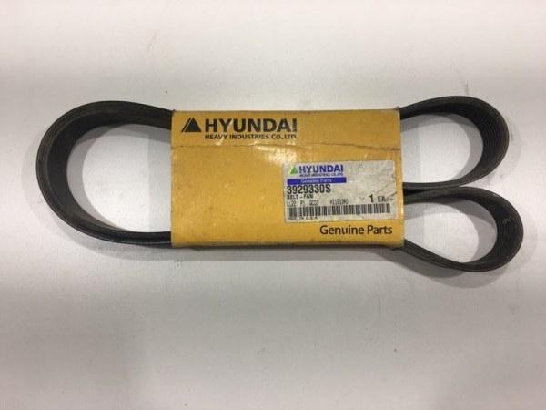 Ремень клиновой Hyundai R140Lc-7