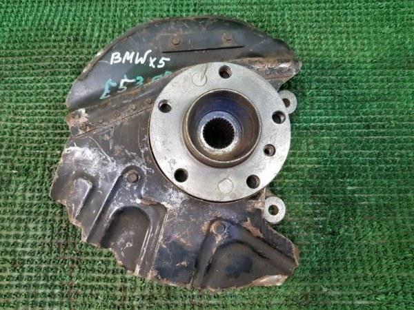 Кулак поворотный Bmw X5 E53 1999 передний левый (б/у)