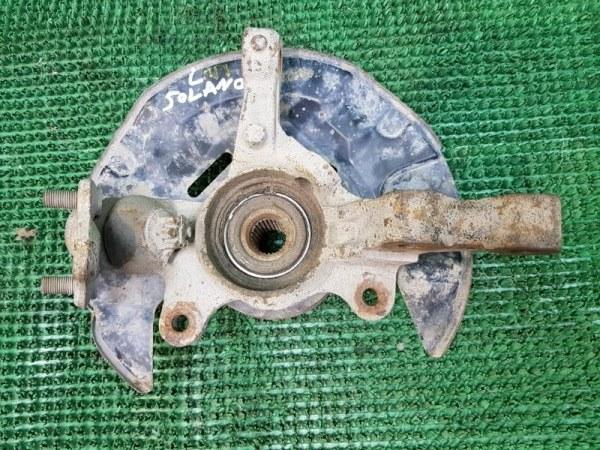 Кулак поворотный Lifan Solano 620 LF481Q3 2008 передний левый (б/у)