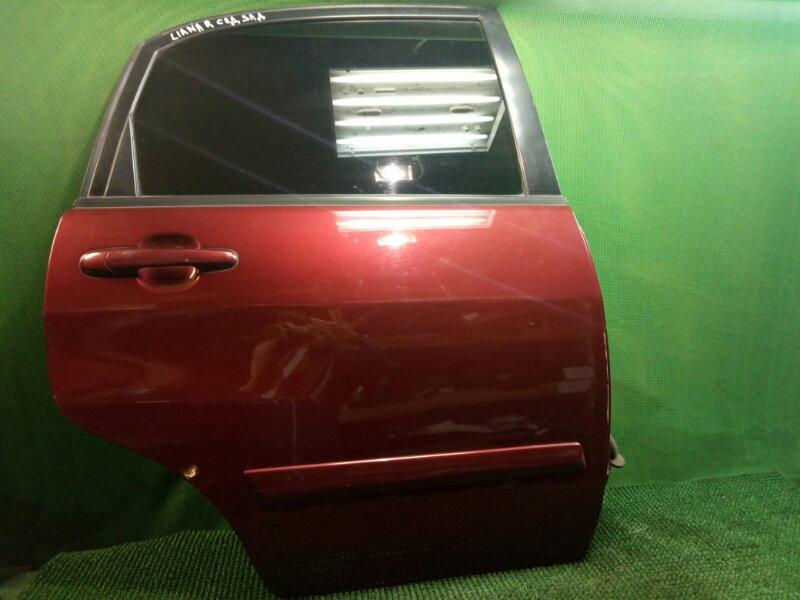Дверь Suzuki Liana ER M16A 2001 задняя правая (б/у)