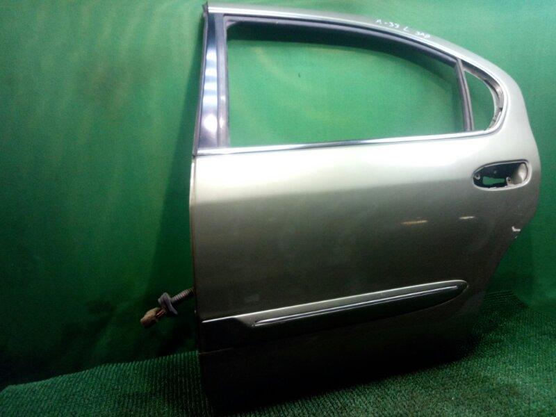 Дверь Nissan Maxima A33 VQ20DE 1999 задняя левая (б/у)