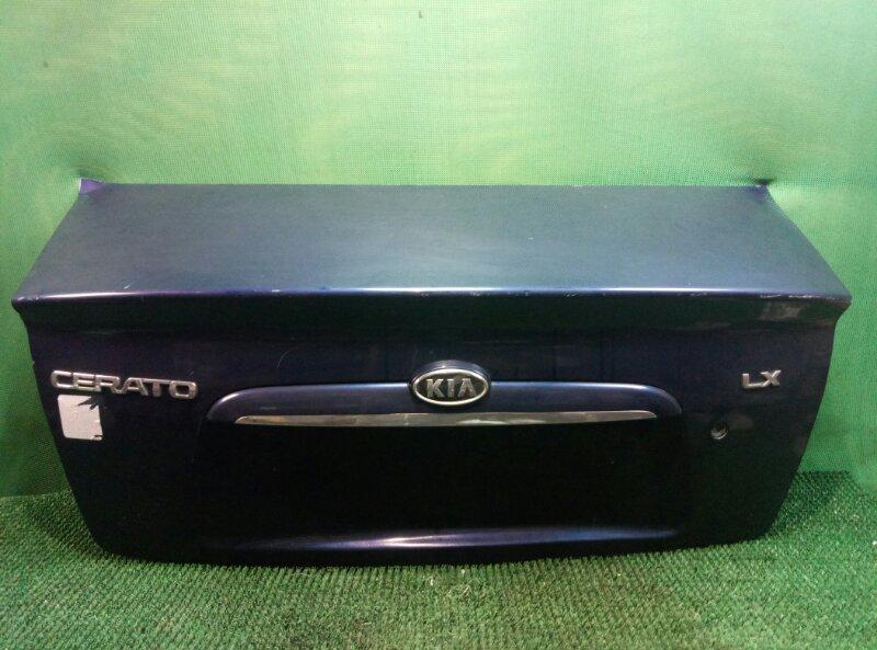 Крышка багажника Kia Cerato LD 2004 задняя (б/у)