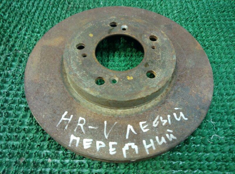 Тормозной диск Honda Hr-V GH3 D16A 2001 передний (б/у)
