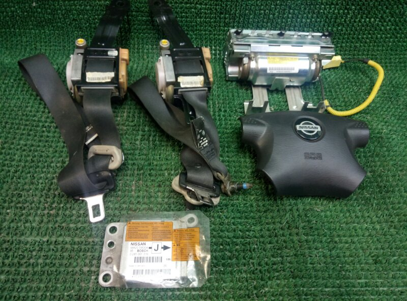 Комплект безопасности Nissan Almera N16 N16 QG15DE 2000 (б/у)